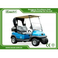 Buy cheap 2 Seater Disc Brake Technology Electric Golf Carts With Bages & Car Cover from wholesalers