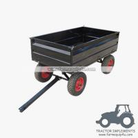 China 4WCART-17  4Wheel 17cubic. Utility Cart Trailers on sale