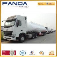 Buy cheap Panda 3 axle fuel tanker trailer 40,000litres or 45,000litres fuel tanker for sale from wholesalers