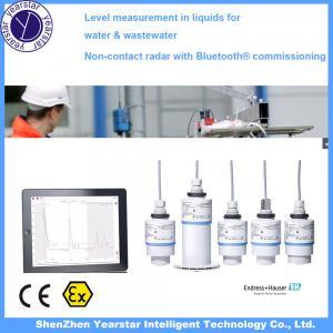 Cheap Endress Hauser/ Radar water tank level sensor/water level meter gauge FMR10 for sale