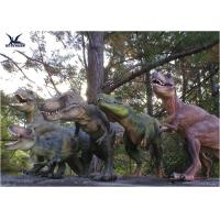 Buy cheap Attractive Robotic Life Size Dinosaur Statues With Dinosaur Alive Roaring Sound from Wholesalers