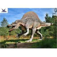 Buy cheap Park Decorative Artificial Dinosaur Garden Ornaments Life Size Dinosaur Decoration Models from Wholesalers