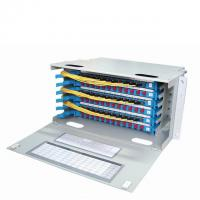 Buy cheap PC / APC Fiber Optic Distribution Frame For Terminal Box OEM Service from wholesalers