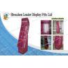 Buy cheap Art Paper Cardboard Floor Display Stands , POP Retail Display from Wholesalers