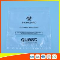 Buy cheap Leak Proof Soft Specimen Transport Bags For Transporting Lab Specimens from Wholesalers