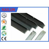 Buy cheap Solar Frames Aluminum Extrusions , Silver Anodized Aluminium Solar Mounting from wholesalers