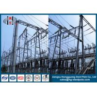 Quality Steel Structures for Substation Anti-rust  Q235 wholesale