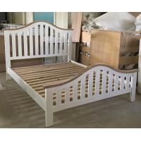 Buy cheap Simple Modern Natural Wood Platform Bed from wholesalers