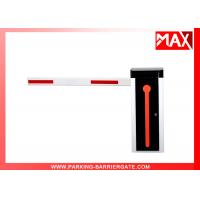Buy cheap Orange Manual Release Automatic Vehicle Barrier , Parking Boom Gate from Wholesalers