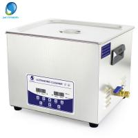 Buy cheap 15L Fast Cleaning Digital Ultrasonic Cleaner With Degas Function For Oily Parts from Wholesalers