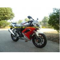 Buy cheap 250cc Matt Black Drag Racing Motorcycles , Sport Racing Motorcycle from Wholesalers