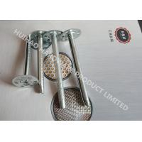 Buy cheap Galvanized Steel Insulation Fixing Pins 8mm x 150mm For Mineral Wool Walls from Wholesalers