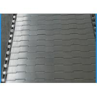 Buy cheap Durable Plate Conveyor Belt Good Ventilation / Dehydration Food Machinery Parts from wholesalers