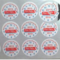 China Special Broken Ultra Tamper Proof Stickers , Irremovable Security Seal Stickers on sale