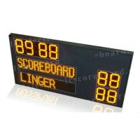 Quality P12mm Pixel Module Team Name LED Horsepolo Scoreboard with Digits in Yellow Color wholesale