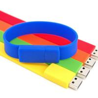 Buy cheap Custom popular silicone bracelet usb flash drive from Wholesalers