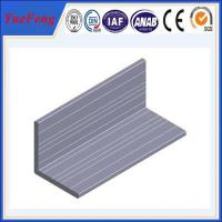 Buy cheap High quality Aluminum angle with ISO9001:2008 certificate from Wholesalers