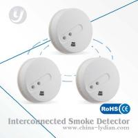 China 9V battery Smoke Detector Wireless , First Alert Smoke Detector on sale
