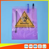 Buy cheap Medical / Laboratory Specimen Transport Bags Plastic Resealable With Document Pouch from Wholesalers