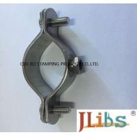 Buy cheap Torque Balance SS 304 Cast Iron Pipe Clamps M8 Nut Without Rubber For Gas Pipeline from wholesalers