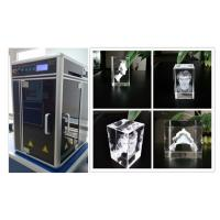 Buy cheap 800W 3D Glass Crystal Laser Engraving Machine , Sub Surface Engraving Equipment from Wholesalers
