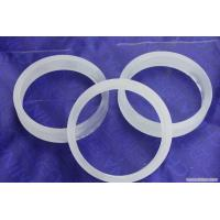 Buy cheap Clear High Purity Quartz Rings Fused Silica Hoop For Industry Lab from wholesalers