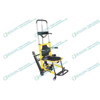 Buy cheap Mobile emergency ambulance chairs for stairs evacuation with two folded handles from Wholesalers