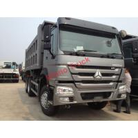 China HW76 Lengthened Cab Howo Tipper Dump Truck / Trailer 21 - 30 Ton Loading Capacity on sale