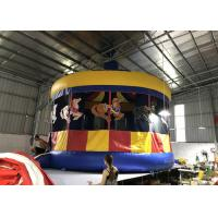 Buy cheap Backyard Commercial 0.55mm PVC Inflatable Carousel Bounce House from wholesalers