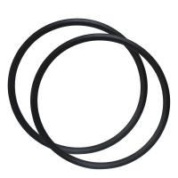 Buy cheap 350g Asymmetry 29er Carbon Fiber Bike Rims Hookless 28mm X 22mm Tubeless from Wholesalers