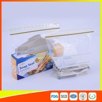 Buy cheap Airtight Transparent Ziplock Snack Bags For Food Packing Customized Size from Wholesalers