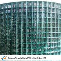 Buy cheap PVC Coated Welded Wire Mesh Green Color With 1/4 inch by Carbon Steel Wire from wholesalers