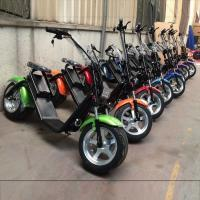 Quality EcoRider 2017 best price electric scooter citycoco battery removable electric scooter wholesale