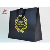 Buy cheap Cotton Ribbon Personalized Wine Bags Paper Material , Custom Business Shopping Bags from Wholesalers