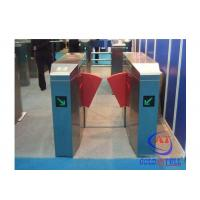 Buy cheap Fashionable Design Stainless Steel Flap Barrier Turnstile Passage Speed 40 Persons / Min from Wholesalers