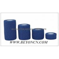 Buy cheap Green Hypoallergenic EAB Cotton Elastic Adhesive Tear By Hand For Sports Use from Wholesalers