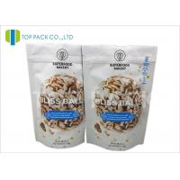 Quality Barrier Zipper Stand Up Pouch PET / AL / PE Cookies Packaging Customzied size wholesale