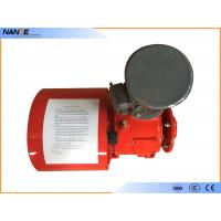 Quality Red Painting Cable Reeling Drum With Motor Horizontal/ Vertical Installation Type wholesale