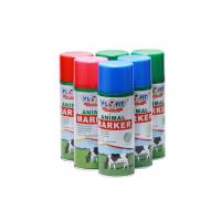 Buy cheap Colorful Harmless Animal Spray Paint , Waterproof Construction Marking Paint from wholesalers