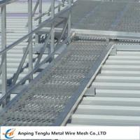 Buy cheap Raised Mild Steel Expanded Walkway Mesh|Expanded Metal Panels 2440x1220 Customized Size from Wholesalers