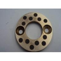 Casting Copper bearing thrust washer With Solid Lubricant Plugs