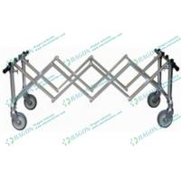 Buy cheap Convenient Foldable Aluminum Alloy Church Coffin funeral trolley Equipment from wholesalers