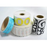 China Self Adhesive Blank Eggshell Stickers Reusable Removable Vinyl Paper Roll on sale