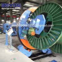 Buy cheap Large industry machine cable twisting machine drum twister  take-up bobbin PN2500/3150 power cable laying up SK from wholesalers