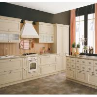 Buy cheap White Color White Shaker Kitchen Cabinets , Pre Assembled Kitchen Cabinets from wholesalers