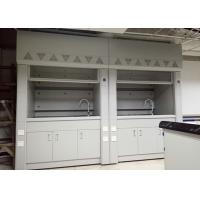 China Steel Lab Fume Hood with Expoxy Resin Worktop Resistance to Corrosion , Acid and Alkali on sale