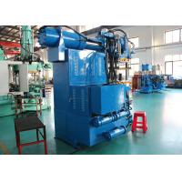 Buy cheap Hydraulic Rubber Press Machine , Rotery Feeding Cylinder Rubber Vulcanizing Machine from Wholesalers