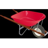 Buy cheap big wheel wheelbarrow WB8604 from Wholesalers