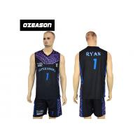 Buy cheap High Quality Sublimation Printing Reversible Training Basketball Uniform For Boys from Wholesalers