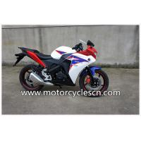 Buy cheap Red Two Wheel Drag Racing Motorcycles For Men , Honda CBR150 Sports Car CBR Road Racing from Wholesalers
